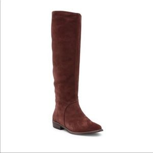 Ugg Daley Tall boots sz 6 suede leather knee high